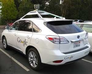 Lexus RX 450h корпорации Google