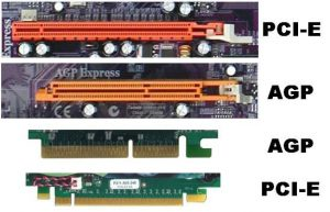 AGP и PCI-E